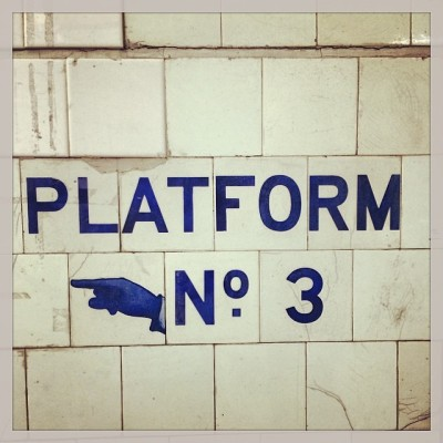 Melbourne Platform No.3 Flinders Street